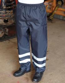 Hi-Vis Waterproof Over-Trousers